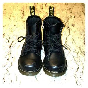 Doc Marten Toddler Combat Boots